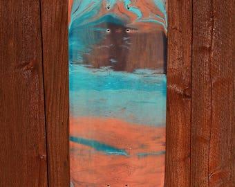 """Skateboard Art - """"Coral 3"""""""
