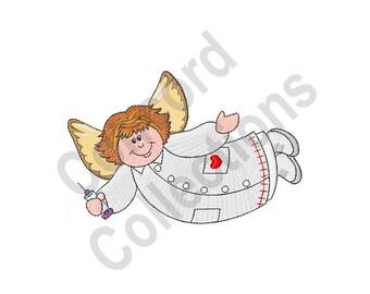 Nurse Angel - Machine Embroidery Design