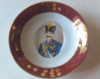 Goofy guy....porcelain/ceramic trinket tray
