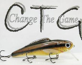 handmade fishing lure/wooden fishing lure/fishing lure/custom lures/bass lures/walleye lures/outdoors/custombaits/fishing/lures/creekchub