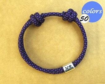 Initial bracelet womens customised. Personalised monogram bracelet for women, gift for her