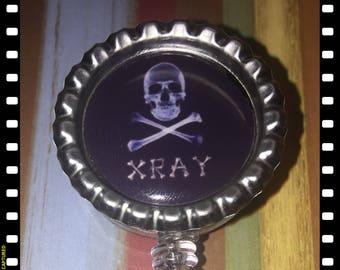 X-Ray Technician Retractable ID Name  Badge Pull Lanyard Tech