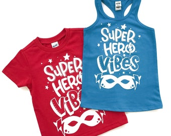 Superhero Shirt, Superhero Tshirt, Boy's Shirt, Boy's Tshirt, Shirt for Boys, Superhero Party, Superhero Theme, Superhero Birthday, Trendy