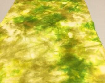 Pears, Hand Dyed 100% Dorr Wool Fabric, 1/4 yard