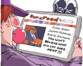 Buzzfeed/Laurie Oakes cartoon