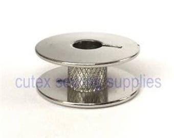 10 Metal Bobbins #55623QWS, SA159 For Bernina, Brother, Janome Sewing Machines
