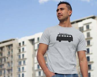 Surfers Camper Van printed T-shirt