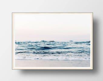 Ocean Wall Art, Beach Decor, Ocean Print, Ocean Beach Decor, Beach Wall Art, Beach Photography, Coastal Decor, Beach Art, Printable Art