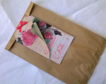 Mother's day: large pink gift bag