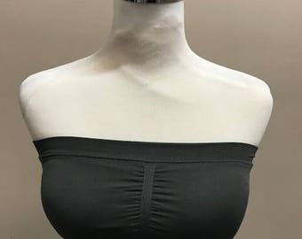 Wrap around Bandeau- Womens, Bralette, One Size, Many colors, stretchy, comfy, good support, bra, bras