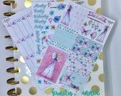 Fairy Happy Planner Weekly sticker kit, butterfly Happy Planner Weekly Kit,happy planner accessories, planner supplies, planner stickers