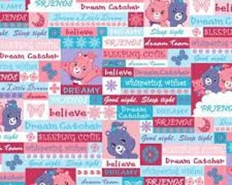 """Care Bears fabric for Springs Creative, 43"""" wide, 100% cotton"""