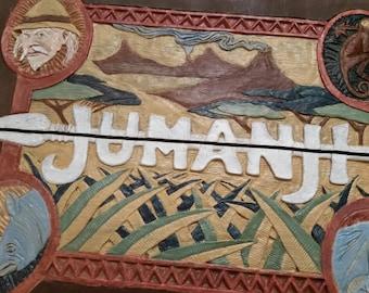 Painted Jumanji face plate