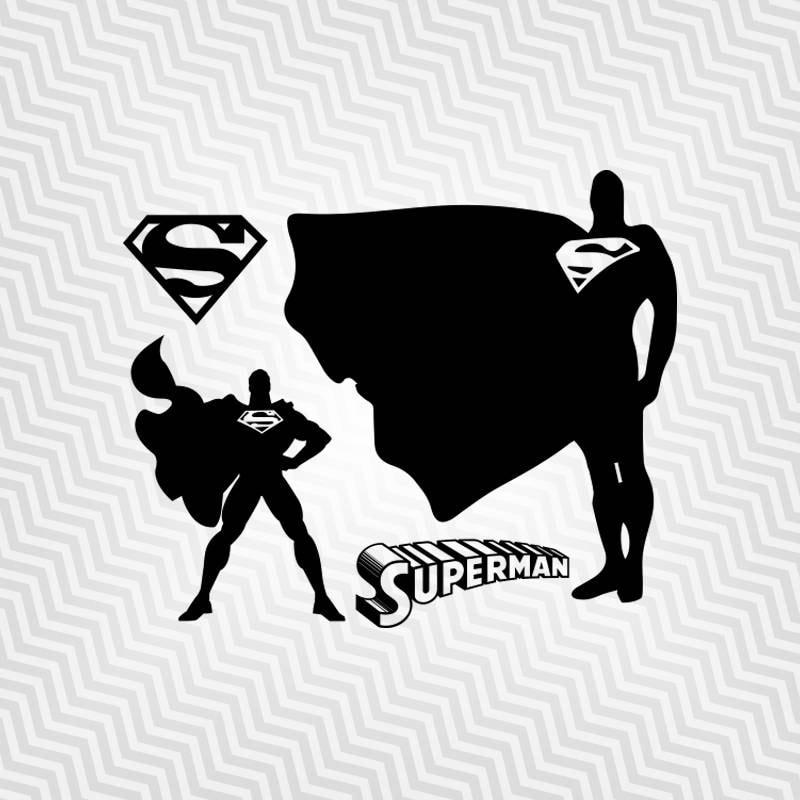 Superman Silhouette Su...