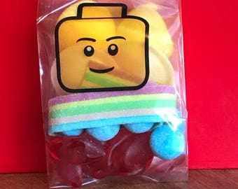 5 / 10 / 15 Lego party favors birthday candy gift