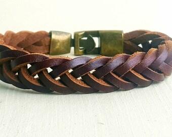 Leather Bracelet man