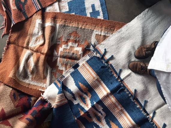 Handwoven big size Guatemalan Rugs