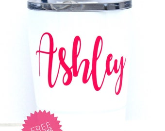 Stainless Cup - Stainless Wine Tumbler - Metal Kids Cup - Personalized Wine Cup