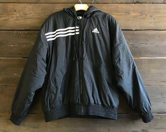 Vintage 90s Adidas Windbreaker Jacket