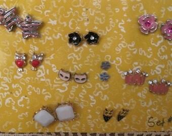 Jewelry, Pierced Earrings, Misc. Earring Sets