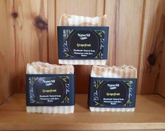 Natural Handmade Soap Grapefruit