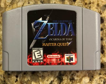 Legend of Zelda Ocarina of Time Master Quest - N64 Reproduction - Nintendo 64
