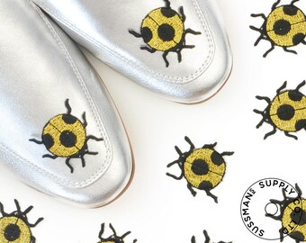 Iron-On Patches - Golden Ladybug  - Vintage Stock