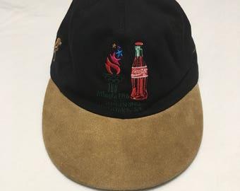1996 Atlanta Olympics Hat Coca Cola Sponsor