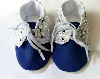 Sequined Girls Sneakers