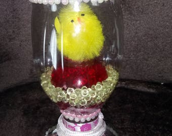 Easter little chick with Bell