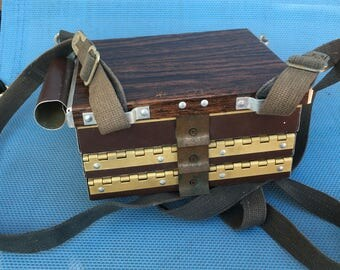 The Rex Richardson Chest Fly Box 3 Compartments Vintage