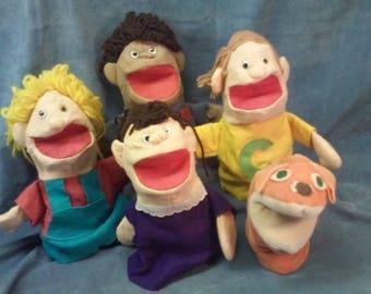 Handmade Muppet People Puppets
