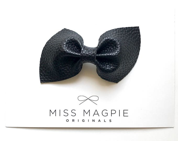 Brooke bow || Black