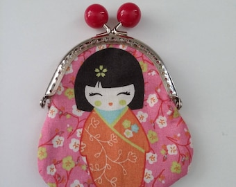 small wallet Chinese handmade double fabric