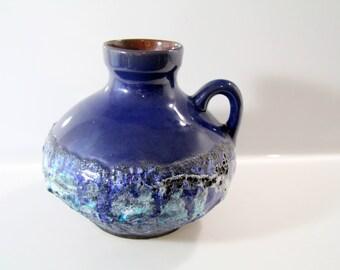 Pretty Vase by Marei - 4302 - West German Pottery - Capri -WGP - Fat Lava