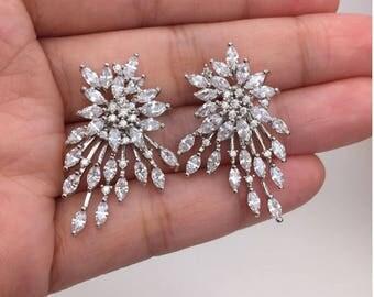 Spectacular dangle earrings for women
