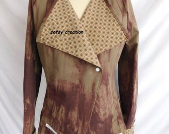 Brown blazer jacket