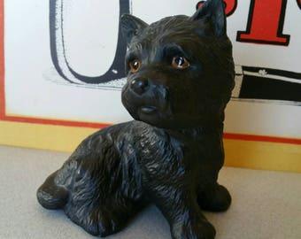 Vintage Global Art Scottie Dog figurine made in Japan