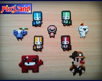 Pixel Art indie games Theme Hama MiNi beads