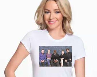 Star Trek Captains T-shirt, Trek Captain Actors T-shirt, T-Shirt Star Trek Captains, All Trek Captains Ever T-shirt