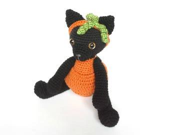 Amigurumi Pumpkin Kitty