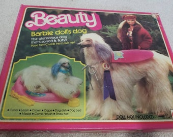Vintage Beauty the Barbie Dog in Box with Accessories