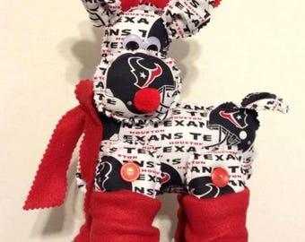 Houston Texans Reindeer