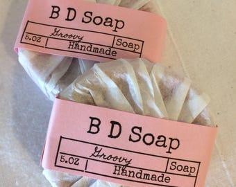 Groovy Body Soap(Flowers)Handmade,Moisturizing,Gifts,Brendadsoap.