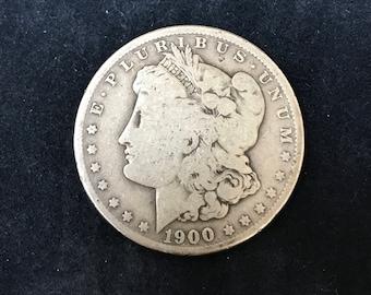 1900 o Silver Dollar