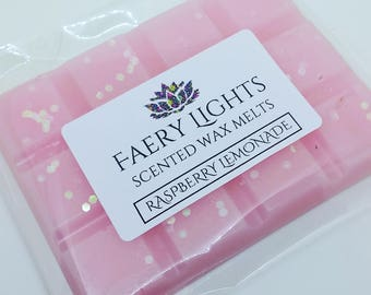 Wax Melts, Raspberry Lemonade, Scented Wax Melts, Wax Tarts, Scented Wax, Home Fragrance, Suitable for use in any wax melter.