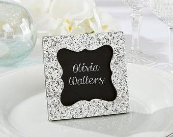 Silver Glitter Frame
