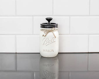 16 Ounce Mason Jar Canister