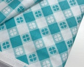 Glamper Picnic in Aqua from the Glampericious Collection by Samantha Walker for Riley Blake, Choose the Cut, Travel Trailer, RV, Glamping