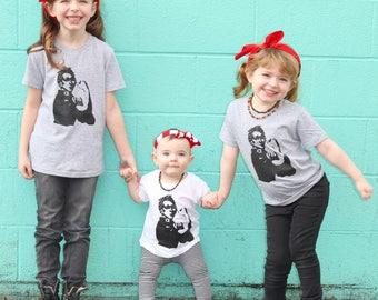 We Can Do It- Rosie the Riveter Toddler Shirt - Girl Power - Feminist - Girl Shirts - Kids Shirts